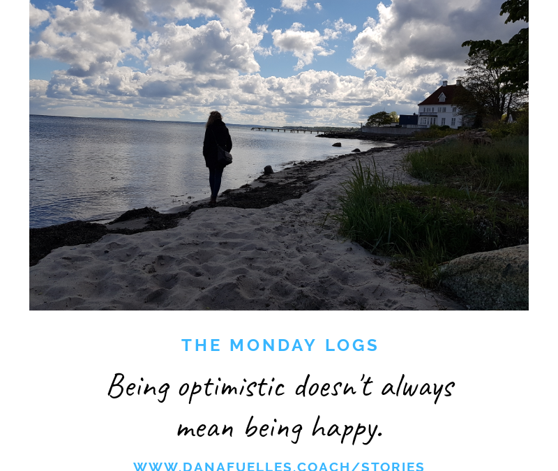 Being optimistic doesn't always mean being happy.